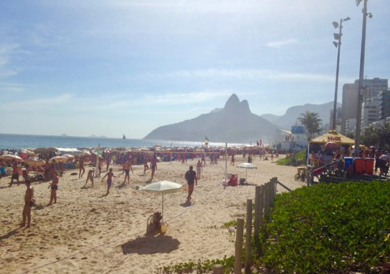 beach culture in rio